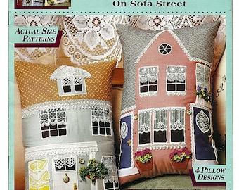 McCall's Creates On Sofa Street No Sew Fabric Craft Pattern Book 14081