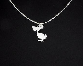 Pelican Necklace - Pelican Jewelry - Pelican Gift