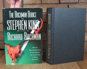 "Bachman Books HC incl. ""Rage"" by Stephan King BCE"