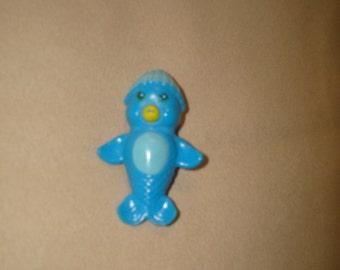 Vintage 1983 Kenner Sea Wees blue penguin named Penny