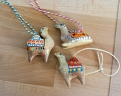 Camel Ornaments / Set of 3 / Moroccan Style
