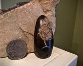 Lightning Stone Septarian Tribal Stone Pendant Cabochon
