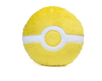Pokemon Go Inspired Team Instinct Geeky Decorative Pillow