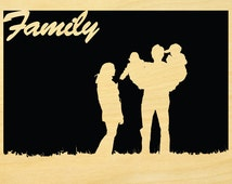 Family Scroll Saw Pattern