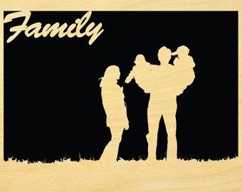 Family Scroll Saw Pattern