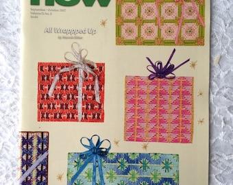 Needlepoint Now Magazine, September / October 2007, Craft Pattern Back Issues