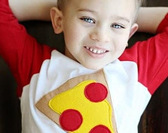 """Swanky Shank Mother's Day Tee """"Pizza Mom's Heart"""""""