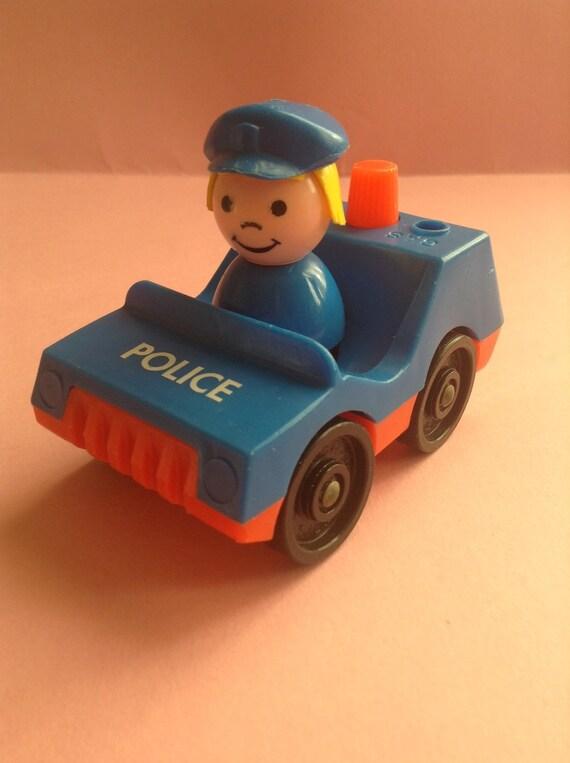 Vintage Fisher Price Police Car
