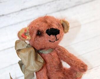 Miniature 4.5 inch Artist Mohair Teddy Bear (HAFAIR)