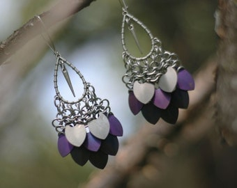 ANDROMEDA earrings - Alamak colourway