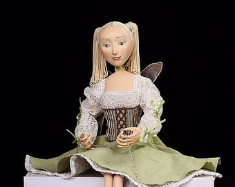 Fairies, Fairy Doll, Fairy Sculpture -OOAK fairy art doll - art dolls