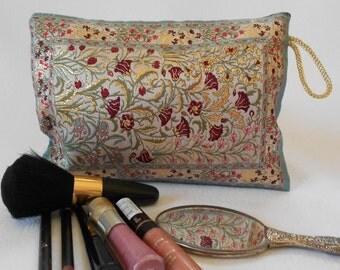 Makeup Pouch, Cosmetic Bag, Travel Bag, Clutch, Pencil Bag, Simple Clutch Bag, Handbag, Ethnic Clutch Bag, Mum Gift