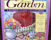 Rubber Stampede: Country Garden ~ A Rubber Stamp Collection c. 1992 ~ 15 Garden Stamps