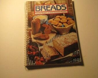 Vintage Bread Cookbook - 'Breads - Favorite Recipes of Home Economic Teachers' (TP-BK-1-1)