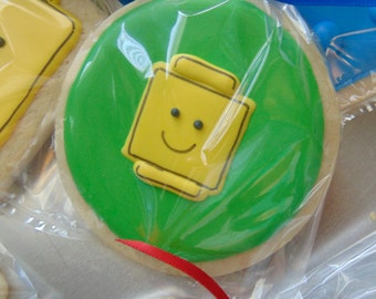 Lego inspired Cookies