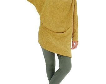 Mustard sweater | Etsy
