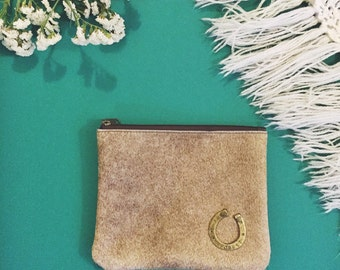vintage pony hair clutch | the new forest bag