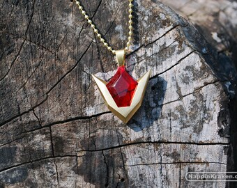 Goron's Ruby Pendant Legend of Zelda Ocarina of Time