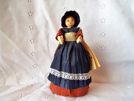Corn Husk Doll by Linda Hubbell