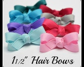Mini Hair Bows, Baby Girl Hairbow Clips, Baby Girl Bow Clip, Hair Bows, Baby Hair Bows, Baby Snap Clip Bows, Hair Bow, Baby Snap Clip Bow