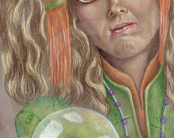 Professor Sybil Trelawney Drawing