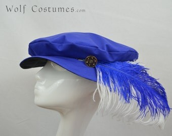 Renaissance Hat - customizable - medieval, fantasy, costume, cosplay, LARP - color options!