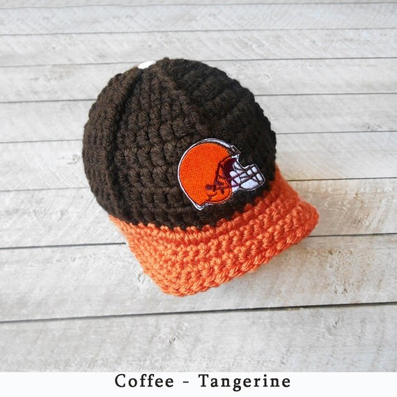 Baby Boy Hat Baby Hats Cleveland Browns Baby Hat Newborn