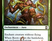 Roots, Limited Edition Magic The Gathering Artist Proof Card, By Scott Murphy