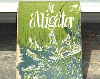 Retro Book, Children's Book, Paperback Book, True-To-Life Series, Al Alligator, by R W Eschmeyer