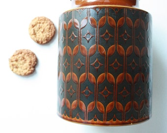 Vintage Hornsea Heirloom Large Lidded Canister