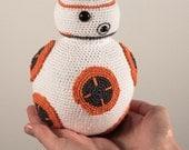 BB8 Star Wars Inspired Crochet Toy