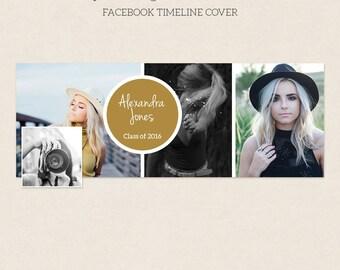 Facebook Timeline Cover - Facebook Timeline Template - PSD Template - Customize Facebook Page - Instant Download - F228
