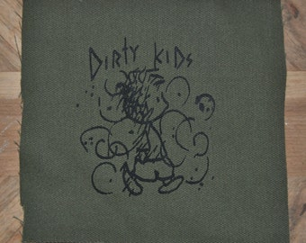 Dirty Kids Patch (Green)