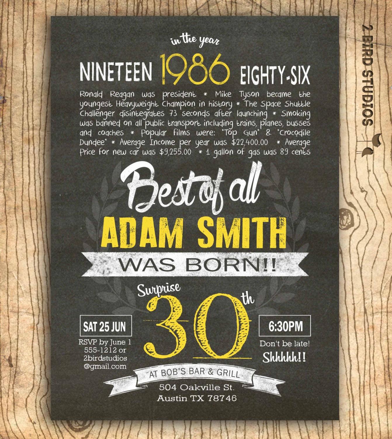 Birthday Quotes For Invitations: 30th Birthday Invitation Surprise 30th Birthday By