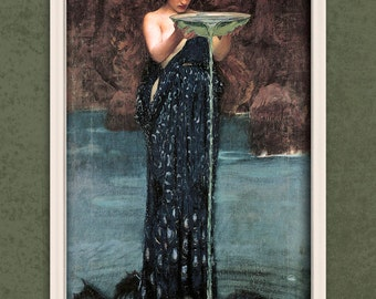 Water Fairy Goddess Unframed Giclee Print FREE SHIPPING