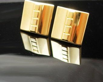 Classic Gold Cufflinks Vintage Quality Men's Jewelry Shirt Accessory wedding tuxedo cuff links accessory mens jewellery