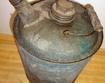 Vintage Gas , Petroleum Product, One Gallon Can