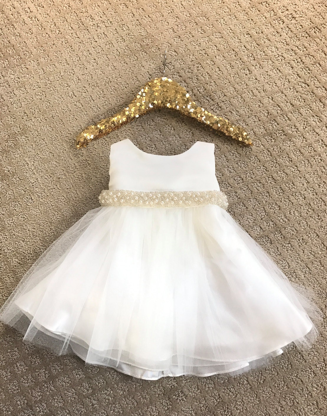 Beautiful crochet dresses for kids trendy - Baby Girl Christening Dress Baby Baptism Dress White Baby Dress White Baptism Dress Toddler Ivory Baby
