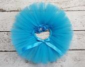 Turquoise Tutu - Baby Tutu Set - Blue Tutu - Tutu & Headband Set - Cake Smash Outfit - Newborn Tutu - Infant Tutu - Toddler Tutu