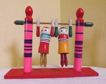 Wood Acrobats Toy