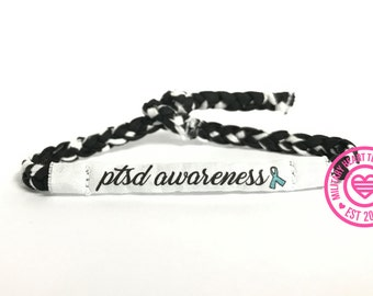 PTSD Awareness bracelet, not all wounds are visible bracelet, PTSD veteran bracelet, 22 Veterans bracelet