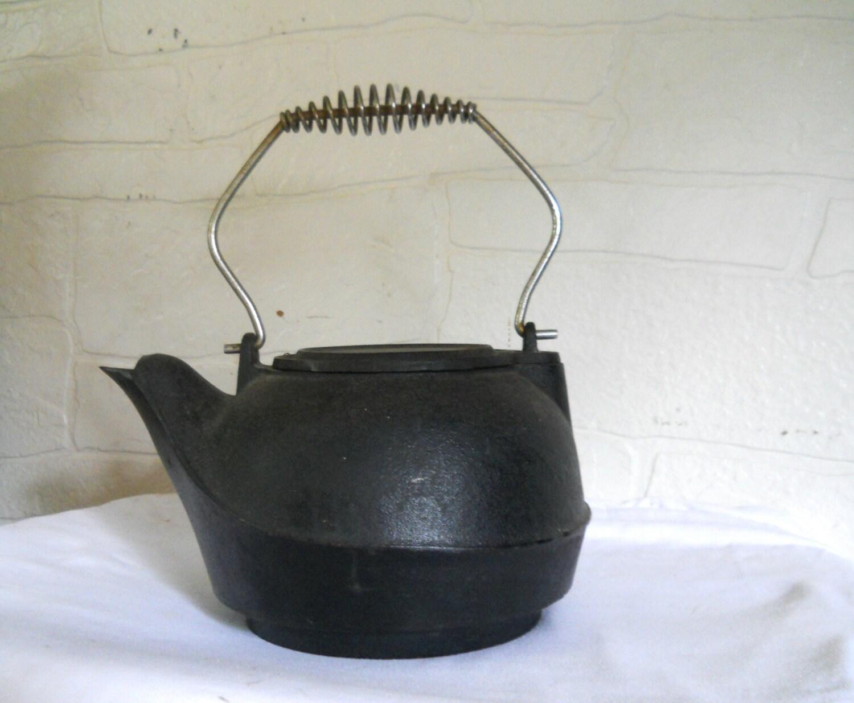 Huge cast iron teapot tea pot kettle