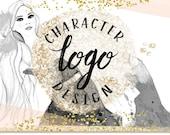Premium Custom Hand Drawn Illustration Logo Design Ooak One - of - a - kind