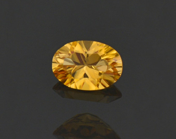Gorgeous Yellow Sunset Tourmaline Gemstone from Tanzania 0.55 cts