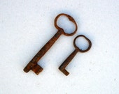 Cast iron Keys, Antique Skeleton Keys ,Rustic Decor , Display