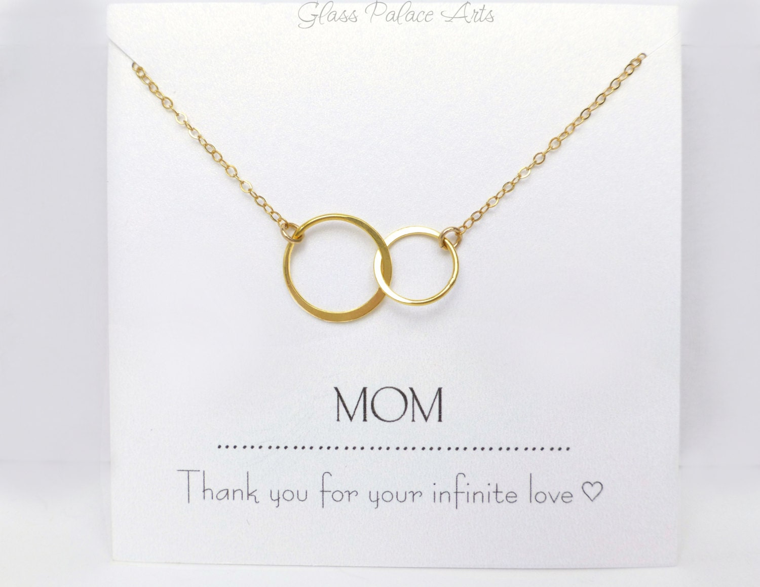 Gift For Mom Necklace To Mom From Daughter Personalized
