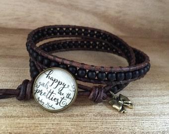 Happy Girls are the Prettiest, Audrey Hepburn Bracelet