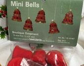 Vintage Christmas Ornament Kit Beaded Sequins Bells
