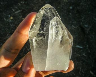 Twinning Water Clear Chlorite Quartz