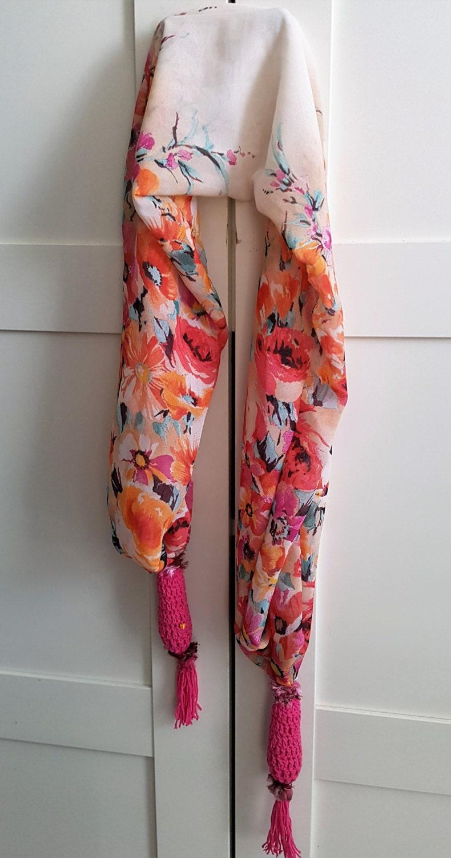 bohemian scarf scarf boho scarf neck scarf scarf